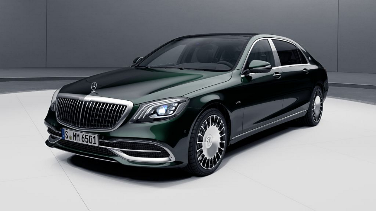 Mercedes-Benz Maybach S Class Sedan
